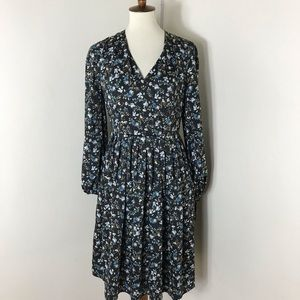 NEW Gal Meets Glam floral long sleeve dress